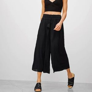 Aritzia Wilfred High Rise Black Pants | Medium